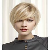 fashion blond krátké Syntheic paruka rozšíření ženy dáma styl
