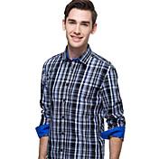 JamesEarl 男性 シャツカラー ロング シャツ&ブラウス レッド - DA112047304