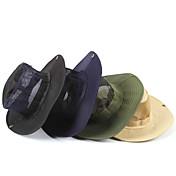 Gorro para el Sol Sombrero Materiales Ligeros Negro / Azul oscuro / Beige / Verde Militar Camping y senderismo Primavera / Verano / Otoño