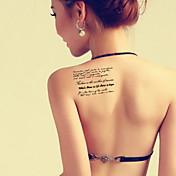 BR - タトゥーステッカー - Non Toxic / パターン / 大きいサイズ / グリッター素材 / タトゥー用エアブラシガン / トライバル風 / 腰 / Waterproof / 3D / クリスマス / 新年 -子供 / 子供用 / 女性 / Girl /