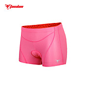 TASDAN® Cycling Under Shorts Women's Breathable / Quick Dry / Reflective Trim/Fluorescence / Sweat-wicking / 3D Pad BikeShorts /