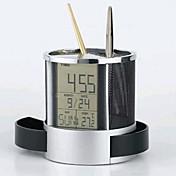 多機能ワイヤーネットクロックカレンダーペン