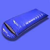 寝袋 封筒型 シングル 幅150 x 長さ200cm 2500g -39℃, 2000g -34℃, 1800g -29℃, 1500g -24℃, 1200g -19℃, 1000g -14℃, 800g -9℃, 600g -4℃ ダックダウン 2000グラム 210X
