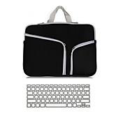 """2 i 1 laptop cover tilfælde ultrabook notebook sleeve taske med tastatur cover til MacBook Pro luft retina 11 """"/ 13"""" / 15 """""""