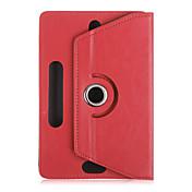 """universal de 10 """"caja de la tableta de la pulgada 360 gira la cubierta de cuero del caso del soporte para el caso protector ficha 10"""