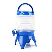 釣りピクニック便利な折りたたみ可能な折り畳み式水のボトル容器をハイキング5.5リットル屋外のキャンプ該当する水バケツ