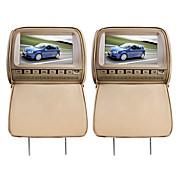 デラックスな9インチ車のDVDプレイヤーおよび保護スクリーンカバー(ゲーム、フリーヘッドフォン、FM、1組)