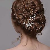 ženski srebrni biser rhinestone ukosnice za kosu nakit za svatove