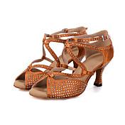 Chaussures de danse(Noir Marron Gris) -Pe...