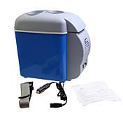 jtron portátil de calentamiento de coche y la caja de refrigeración con portavasos / pequeño refrigerador un coche