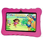 7インチ 子供のタブレット (Android 4.4 1024*600 クアッドコア 512MB RAM 8GB ROM)
