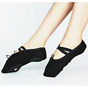 Zapatos de baile-Personalizables-Mujer Niños-Ballet-Tacón Personalizado-Lienzo-
