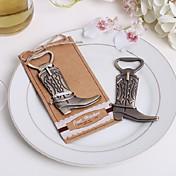 Garrafa Favor 1Peça/Conjunto Abridores de Garrafa Tema Clássico Não-Personalizado Cromado Chocolate