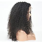 10-24inch合成かつらはカールレースフロントの毛のかつらを変態します