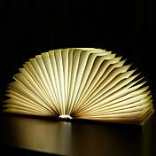USB充電式の創造木製の折り畳み式の折り畳み可能なページは、ブック形状ポータブルbooklightを主導しました