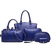 Ženska vrećica postavlja pu sve sezone formalne casual događaj / party vjenčanje ured&Crvena crna plava