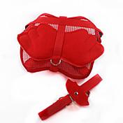 猫用品 / 犬用品 ハーネス / リード 調整可能/引き込み式 / コスプレ / キュートで愛らしい レッド / ブルー / ピンク 織物 / ナイロン