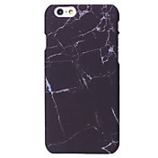 Para iPhone X iPhone 8 iPhone 6 iPhone 6 Plus Carcasa Funda Other Cubierta Trasera Funda Mármol Dura Policarbonato para Apple iPhone X