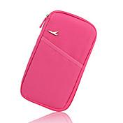 旅行用ウォレット 携帯式 のために 小物収納用バッグローズ グリーン ブルー ピンク ワイン
