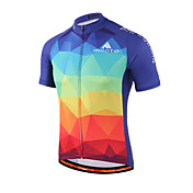 Miloto Maillot de Ciclismo Hombre Mujer Niños Unisex Manga Corta Bicicleta Camisas Sudadera Camiseta/Maillot Secado rápido Permeabilidad