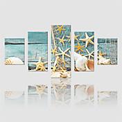 キャンバスセット 風景 Modern,5枚 キャンバス 縦長 版画 壁の装飾 For ホームデコレーション