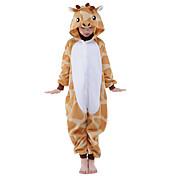 Kigurumi Pijamas nueva Cosplay® Jirafa Leotardo/Pijama Mono Festival/Celebración Ropa de Noche de los Animales Halloween Naranja Retazos