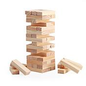 48ブロックミニ木製スタッキング; タンブルタワーブロックゲーム