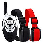 collar de la corteza Collares de Entrenamiento para PerrosAjustable/Retractable Impermeable Inalámbrica Antiladrido Recargable Control