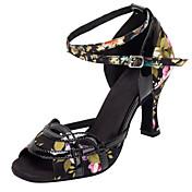 Zapatos de baile(Otro) -Latino / Salsa-Personalizables-Tacón Personalizado