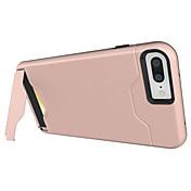 Para iPhone X iPhone 8 iPhone 7 iPhone 7 Plus iPhone 6 Carcasa Funda Soporte de Coche Antigolpes con Soporte Cubierta Trasera Funda