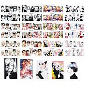 12 designs ,12 different images Nail Art naljepnica Prijenos vode Decals šminka Kozmetički Nail art dizajn