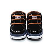 キッズ 男の子 赤ちゃん ブーツ 赤ちゃん用靴 フリース 秋 冬 カジュアル ブラック コーヒー フラット