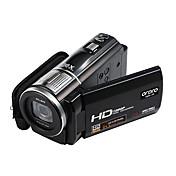 """ordro® HDV-f5 1080p de vídeo digital cámara de 3 """"pantalla táctil 16x zoom digital de soporte de control remoto función de macro"""