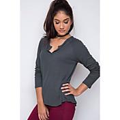 アマゾンAliexpressの貿易爆発モデル2016新しい女性' sの無地Tシャツスリム底入れシャツ