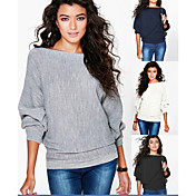 manga del palo flojo El hilo de la manga larga del otoño de eBay Amazon Wish y el invierno de la moda