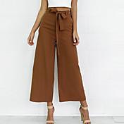 Femme Ample Ample Chino Pantalon,simple S...