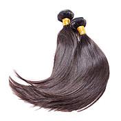 Tejidos Humanos Cabello Cabello Brasileño Recto 1 Pieza los tejidos de pelo