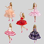 Party/Večírek Šaty Pro Barbie Doll Šaty Pro Dívka je Doll Toy