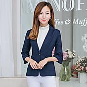 firmar 2016 nuevo algodón pequeño juego de la manga femenina delgado coreano de la pequeña chaqueta del juego una hebilla