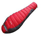 寝袋 マミー型 シングル 幅150 x 長さ200cm -15-20 ダックダウン80 ハイキング キャンピング 旅行 狩猟 屋外 防湿 通気性 速乾性 防風性 携帯式