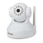 Sricam 1.0 MP 屋内 with 赤外線カット 128G(デイナイト モーション検出 リモートアクセス ワイファイ・プロテクテッド・セットアップ(WPS) プラグアンドプレイ) IP Camera