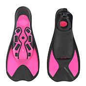 ダイビングフィン NO TOOLSは必要ありません ショートフィン ダイビング&シュノーケリング 水泳 プラスチック
