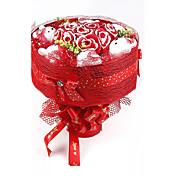 ブライダルシャワー 結婚 記念日 結婚式 誕生日 バレンタインデー バレンタイン サンクスギビング 婚約 党好意&ギフト-1ピース/セット ギフト 造花 リボン 環境に優しい素材 クラシックテーマ ハート型