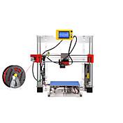 raiscube r1-w acrílico blanco bricolaje impresora 3D (embalaje con pla 0,5 kg e instalar herramientas)