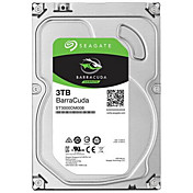 Seagate 3TB Desktop Hard Disk Drive 7200rpm SATA 3.0 (6 Gb / s) 64MB CacheST3000DM008