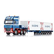 Camión Juguetes Juguetes de coches 1:50 Metal ABS Plástico Azul Modelismo y Construcción