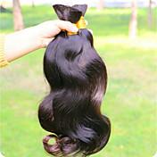 Brasileña del pelo de Remy Extensión Natural Remy Ondulado Grande Extensiones onduladas naturales remy