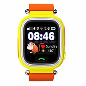 GPSは、抗失われたリマインダタッチスクリーン無線LAN測位スマートウォッチ子どもSOSコールの位置ファインダ装置を見yyq90