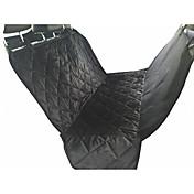 ネコ 犬 シートカバー ペット用 マット/パッド 防水 高通気性 折り畳み式 ソフト ブラック ブラウン コットン