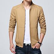 La nueva caída de los hombres&# 39; s chaquetas de primavera y otoño hombres sección delgada&# 39; s abrigo en la primavera ropa